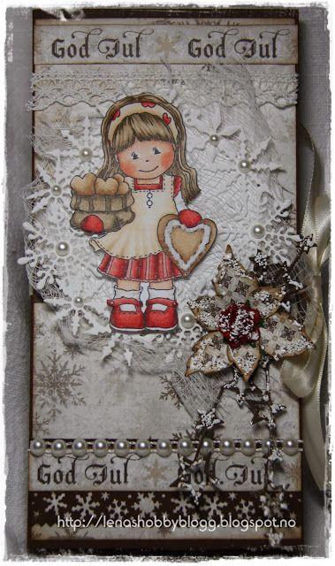 Chokolate card/sjokoladekort