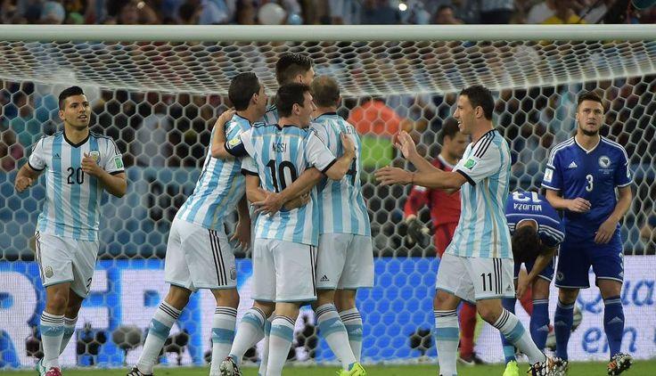 Brasil 2014: Argentina le ganó 2-1 a Bosnia y deja dudas en su juego