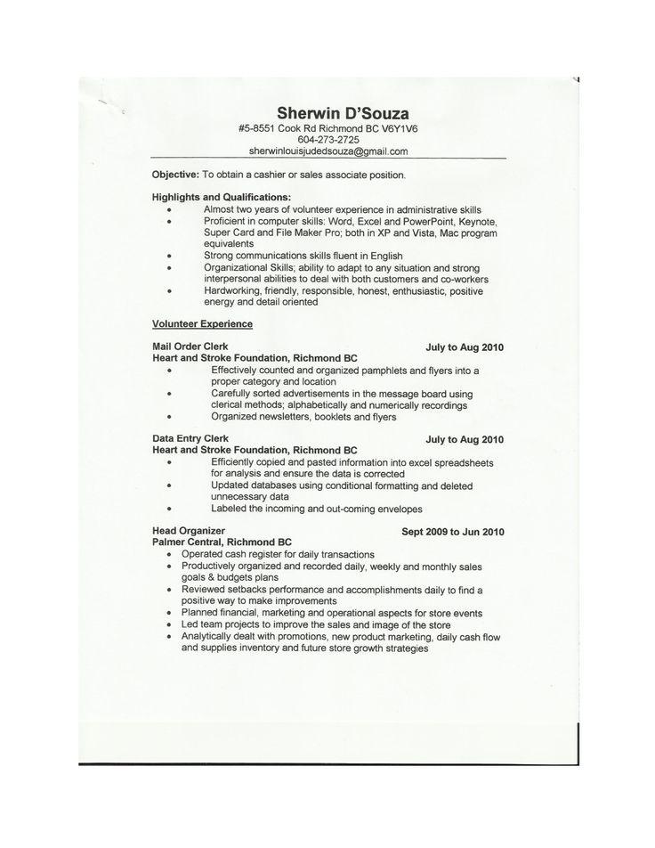 sales associate resume example httpwwwresumecareerinfosales - Tips For A Resume