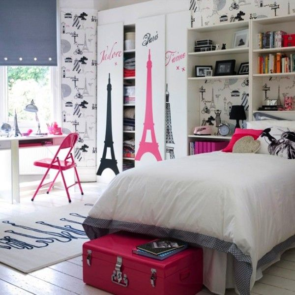 Paris Decor For Girls Bedroom Home Ideas Pinterest