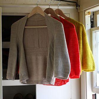 Knitbot Wispy Cardigan PDF Knitting Pattern. So cute wonder if daughter would like?