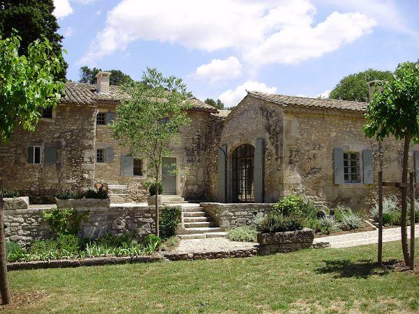Love the terrace and steps -  Only Provence : Villa : Mas de la Calade #luxury villas Provence