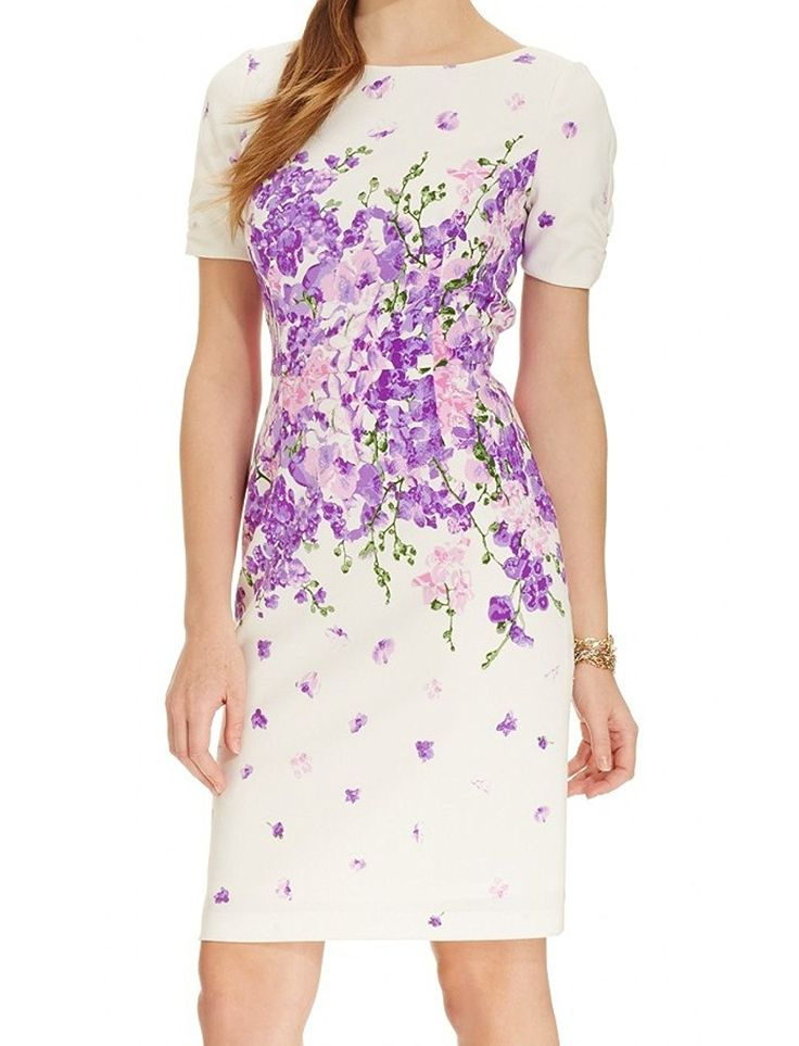 Adrianna Papell Women's 'Garden Party' Floral Sheath Dress >>> Unbelievable  item right here! : Prom dresses