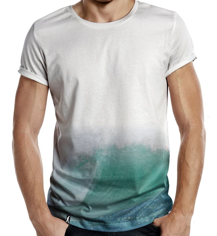 Distinkt Youth Surf Wave Half Print Mens Fashion T Shirt Summer Surfing Board Sea Hipster by TheShedOutlet on Etsy