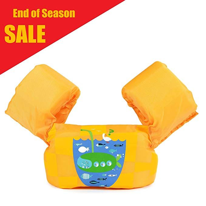 Siran Toddler Life Jacket Baby Swim Float Kids Swim Life Vest Kids Swimming Floats Vest For Kids Flotation Device 3 Baby Swim Float Baby Swimming Kids Swimming