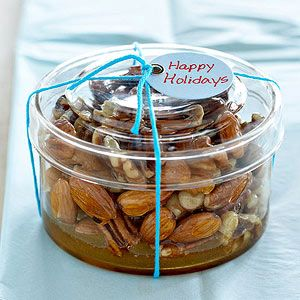 Honey-Nut Topping Use this sweet and crunchy topper for pound cake, ice cream, or oatmeal.  BETTER HOMES AND GARDENS