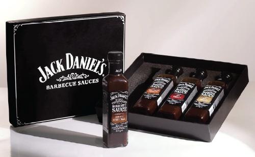 COFANETTO 4 SALSE BARBECUE Jack Daniel's