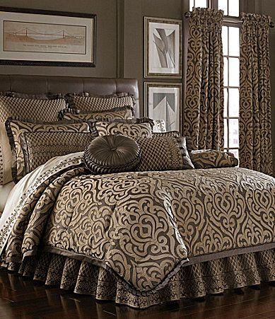 J Queen New York Hermitage Mink Bedding Collection Dillards