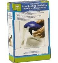 Anti-Fog/Anti-Static Lens Cleaning Towelettes $6.00