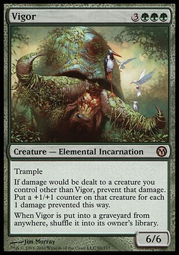 MTG. Vigor x1 from Duels of the Planeswalkers. NM/SP