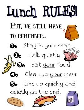 This is a poster of generic cafeteria rules for elementary schools.  It was used along with my Road Work/ Construction theme, but that is not required for this to be an effective tool.Please look through my other items for more cafeteria disciplinary and  organizational tools.
