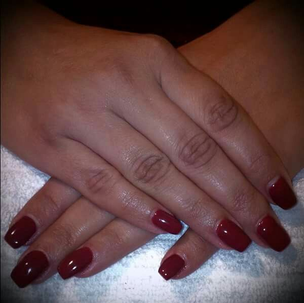 LCN #gelnails #red #facebookgetnailedbyApril