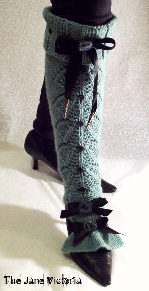 Old Fashioned Crochet Spats Pattern Festooning - Easy Scarf Knitting ...