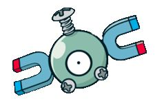 #Magnemite from the official artwork set for #Pokemon Channel on #Gamecube. http://www.pokemondungeon.com/pokemon-channel