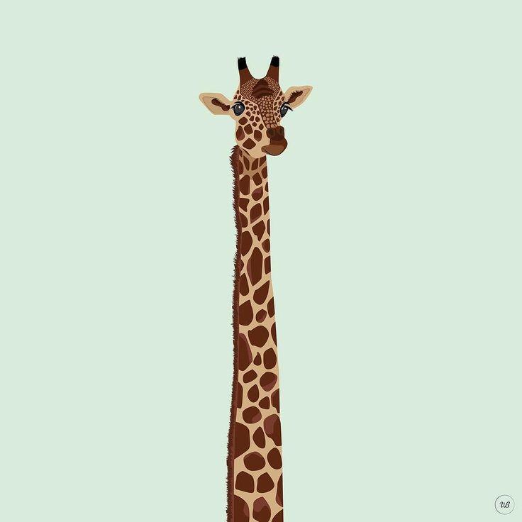 Giraffe #illustration #illustrationoftheday #illustrationwork #dessin #dessindujour #drawing #color #couleurs #illustrator #girafe #giraffe #animals #animaux #animal #virginiebpics @virginieb.pics http://ift.tt/2kai6hP