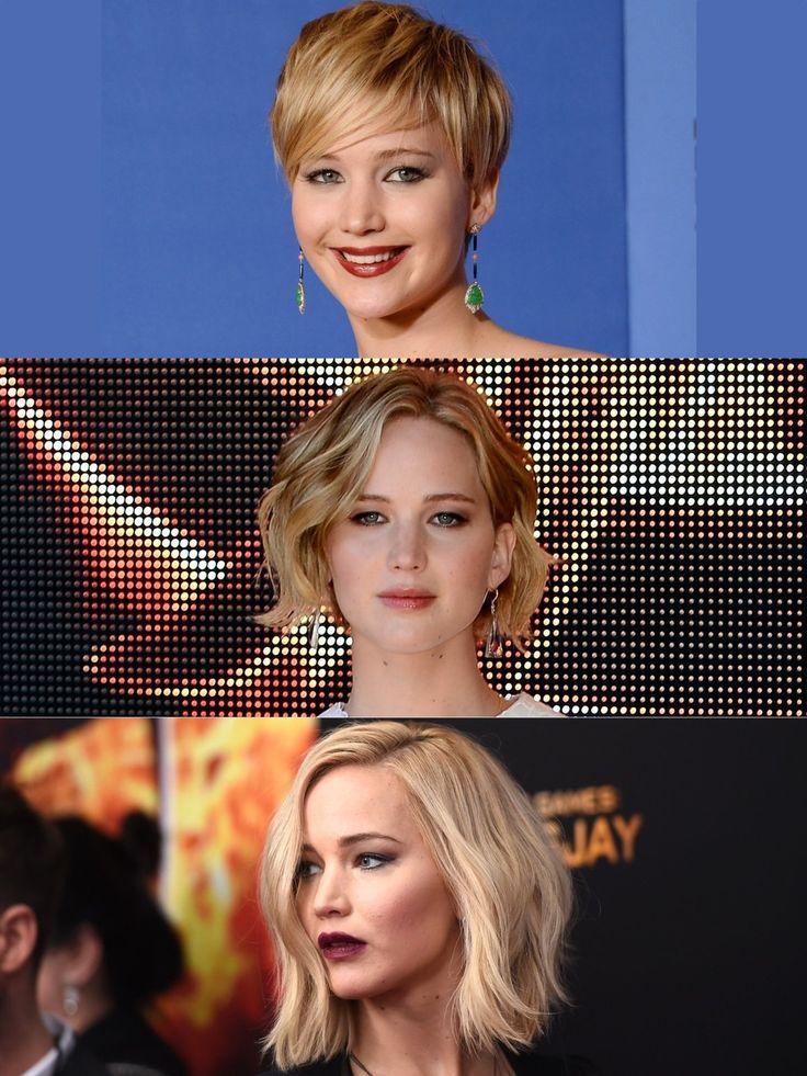 Im Januar 2014 sahen wir Jennifer Lawrence mit einer frechen Kurzhaarfrisur - gut fünf Monate später, ließ sie sich ihre Haare wieder lang wachsen. Nach einem kurzen Extensions-Ausflug sind die Haare Anfang 2016 wieder schulterlang - hat nicht mal zwei Jahre gedauert! Mehr Infos und Bilder zur Oscar-Preisträgerin hier: Jennifer Lawrence
