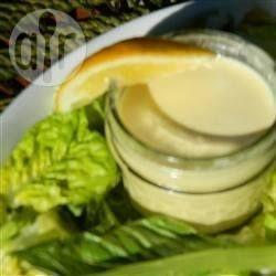 Molho para salada caesar @ allrecipes.com.br