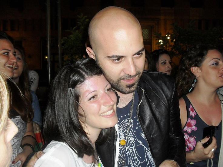 me and Giuliano Sangiorgi @negramaro   Napoli, 8 giugno 2013 ....waitin' for Olimpico!!! :D