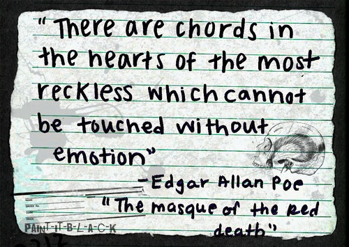 """a critique of the novel the masque of the red death by edgar allan poe Book review ~~ the masque of the red death ~~ march 4, 2013 by roseylily a short while ago, i read the short story """"the masque of the red death"""", by edgar allan poe."""