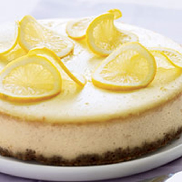 Lemon Ricotta Cheesecake | Recipe