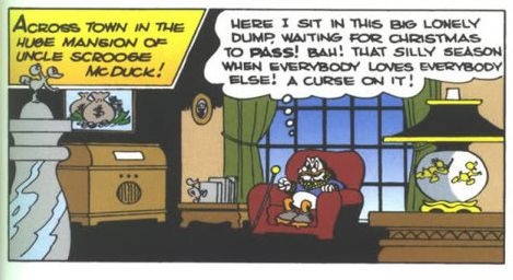 Scrooge McDuck made his first appearance in a Donald Duck comic in 1947. It was originally supposed to be his only appearance.