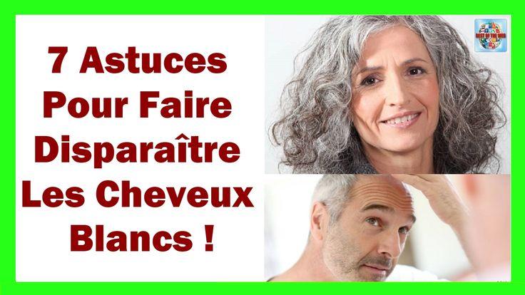 7 Astuces Pour Faire Disparaître Les Cheveux Blancs