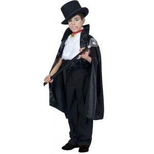 Déguisement Dracula enfant, Déguisement Dracula cape vampire  avec veston et jabot, costume Halloween, fêtes. http://www.baiskadreams.com/1253-deguisement-dracula-enfant-garcon.html