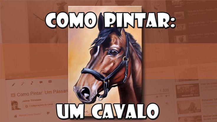 Como Pintar: Um Cavalo ( Passo a Passo )