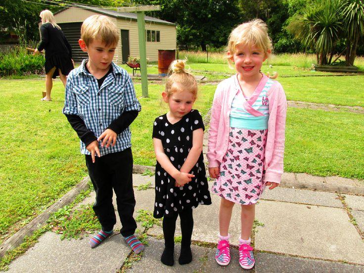 Sebastian, Georgia and Ellie