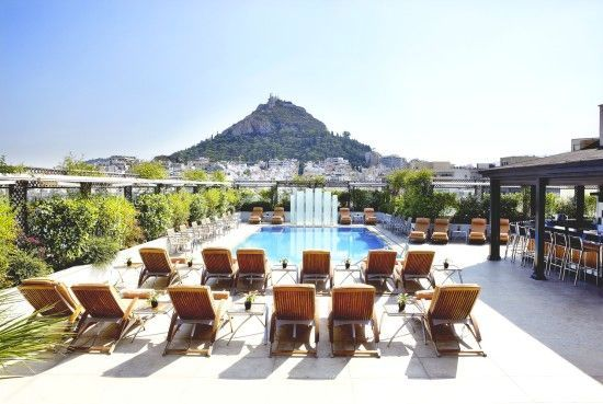 The Grand Bretagne hotel in Athens..spectacular ..