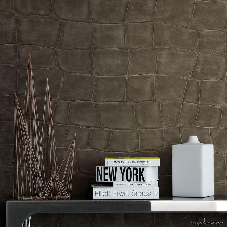 Elitis Big Croco Wallpaper   VP423   £131.60