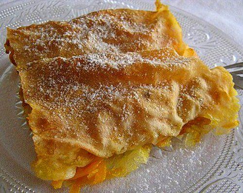 Πολίτικη Κουζίνα Αλίντα Κανάκη: Kολοκυθόπιτα γλυκιά
