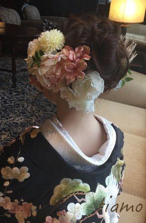 可愛い花嫁さま♡ドレスから色打掛へとチェンジの素敵ホテル婚 |大人可愛いブライダルヘアメイク 『tiamo』 の結婚カタログ