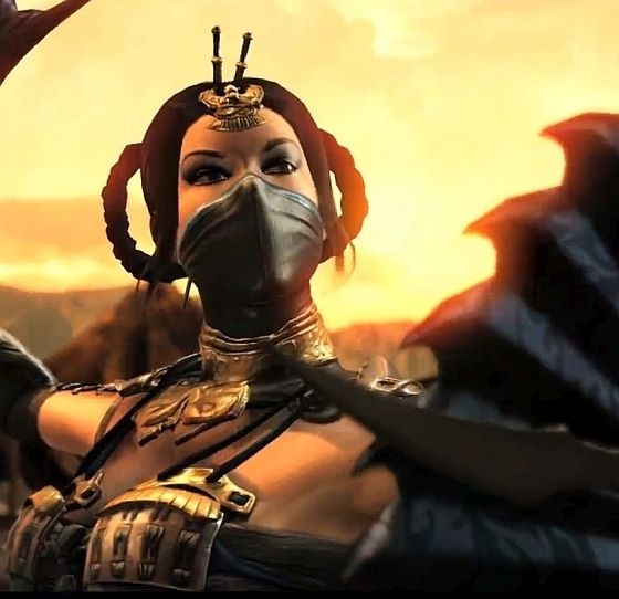 Mortal Kombat X: Kitana and Kung Lao fighting trailer (Kitana's new look is bad ass!)