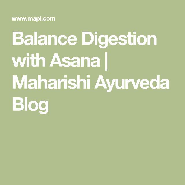 Balance Digestion with Asana | Maharishi Ayurveda Blog