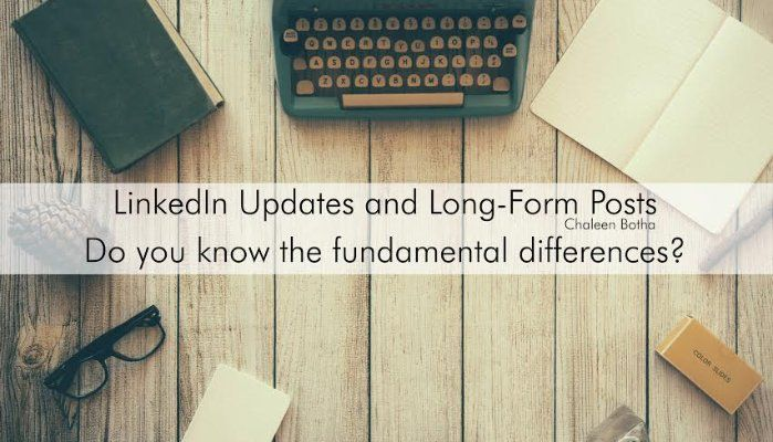 Do you know the fundamental differences? | Chaleen Botha | Pulse | LinkedIn