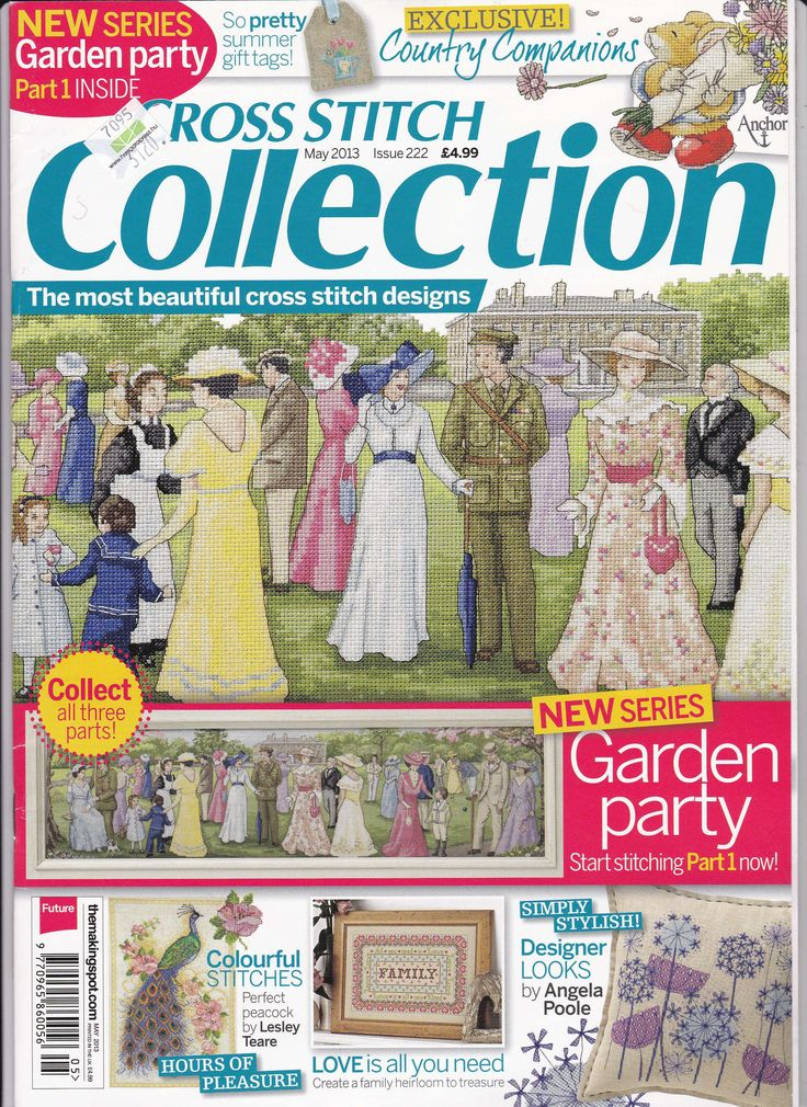 Cross Stitch Collection Issue 222 Patterns pinned