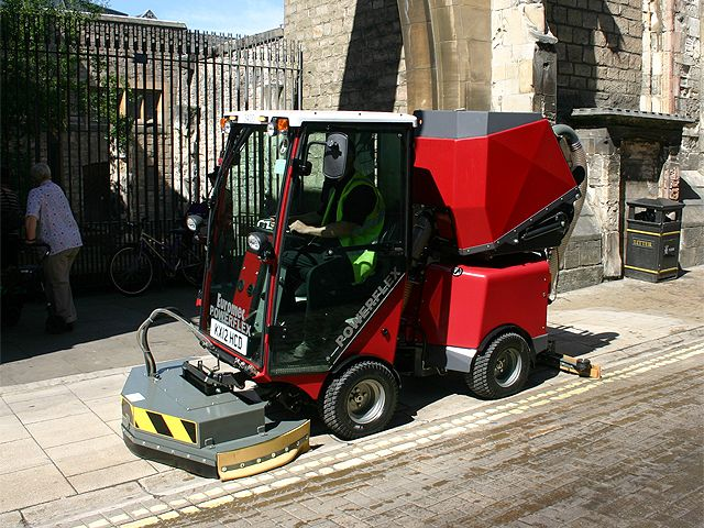 Street Scrubber Drier By Powerflex From Euromec Floor