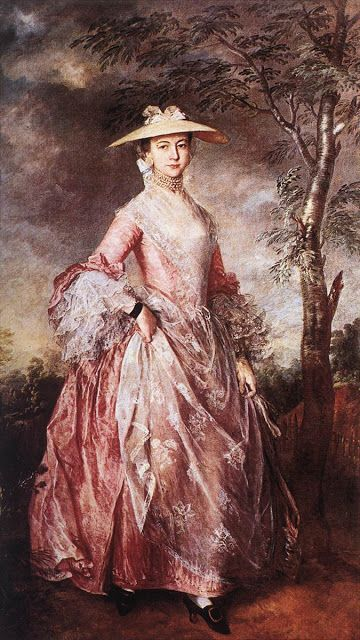 La condesa de Howe- Thomas Gainsbrough