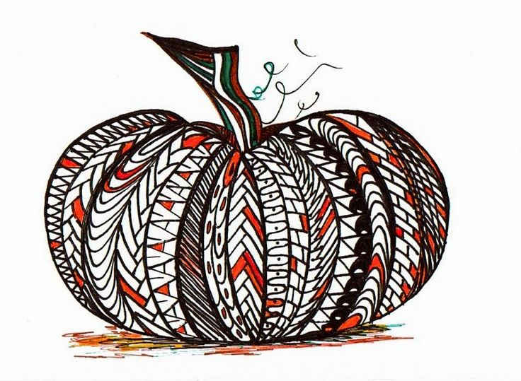zentagle pumpkin! Notice the letters A and N used as pattern.  You could use letters to create a secret pumpkin message!