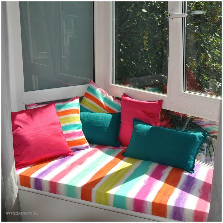 sunny window seat 18chelseamews.com DIY