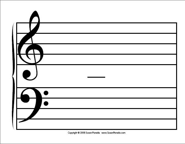 25 best Teaching resources images on Pinterest Teaching - music staff paper template