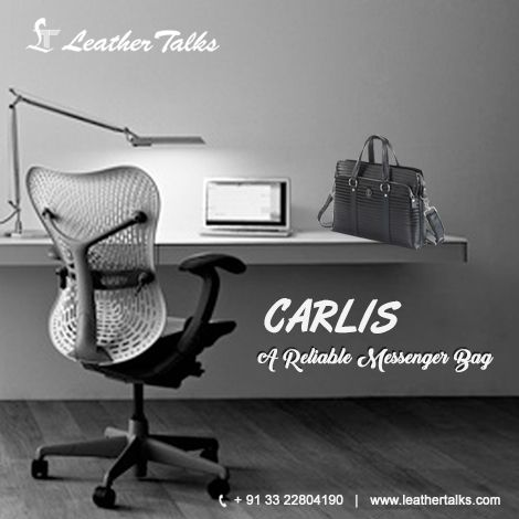 This messenger bag from Leather Talks imparts a sophisticated look and is sure to enhance your style. The messenger bag has multi compartments that will help you to store your important office documents. Buy now http://leathertalks.com/product/carlis/