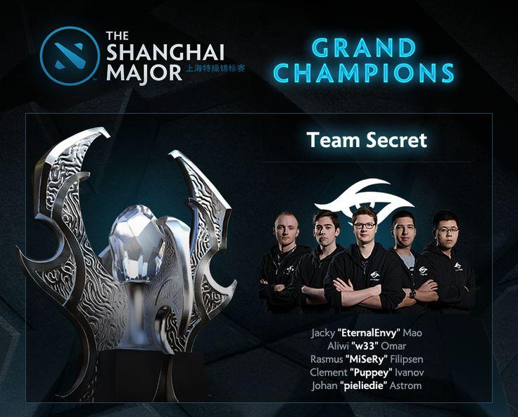 GGWP! Team Secret keluar sebagai juara di turnamen Shanghai Major!