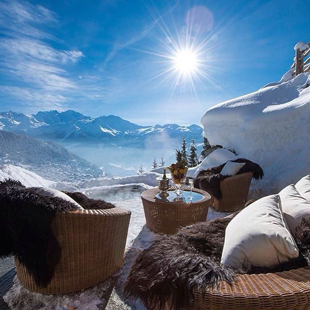 Verbier ❄️ Swiss Alps  - Photo:©Firefly Collection