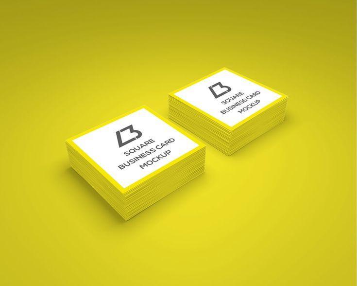 Free-Square-Business-Card-Mockup