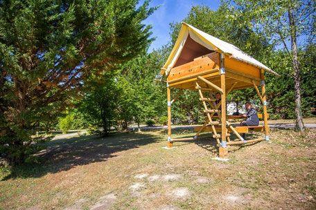 Tente Bivouac, un vrai lit pour se reposer