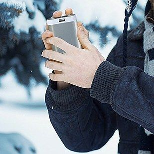 A hand-warmer that can also recharge your phone and light your way (thanks to its built-in flashlight). | Amazing Gifts Anyone Who's Always Cold Would Love To Receive