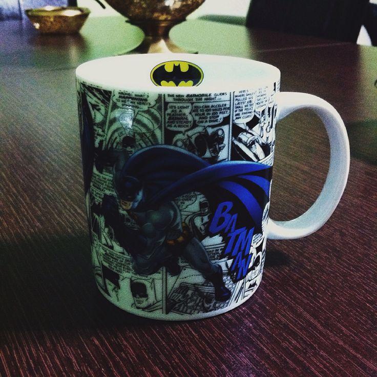 Batman Rulz.!   #Batman #Dc #Mug