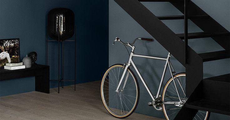 Stue Inspo INDUSTRIAL BLUE 5455 Farge Interiør | Jotun.no